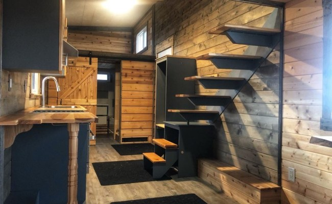 30 Foot High End Tiny House By Finished Right Contracting