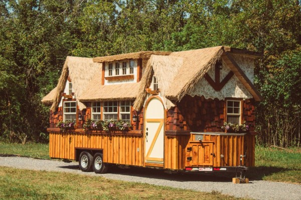 The Highland Tiny House On Wheels 10ft Width Makes Big