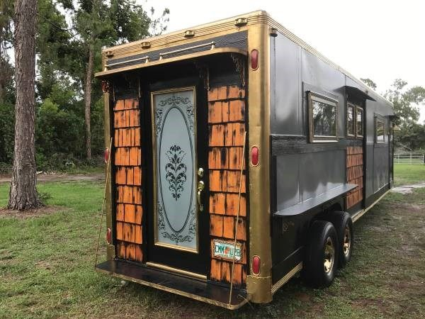 kitchen cabinets naples fl ikea step stool horse trailer converted into a tiny home