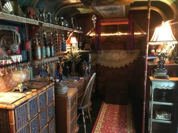 Horse Trailer Turned Into Gypsy Wagon Tiny House