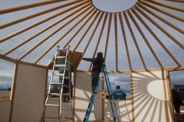 How to Build Your Own Freedom Yurt Cabin 0020