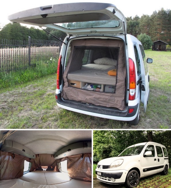 How to Turn Your Van into a DIY Micro Camper 01