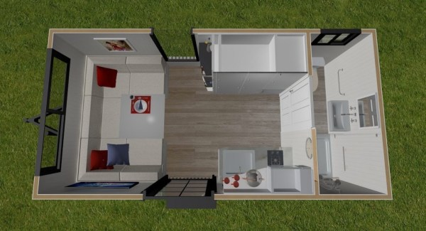 Independent Series 4800DL Tiny House on Wheels by Designer Eco Homes 0014