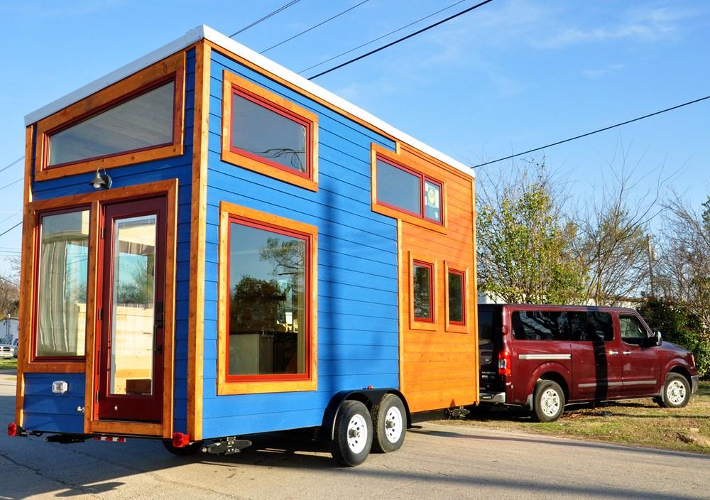 Beautiful 200 Sq Ft Custom Tiny House By Indigo River
