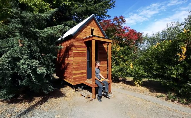 Jay Shafer S Designs And Builds A 5 000 Tiny House