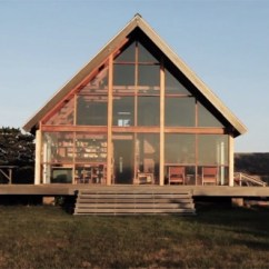 Small Kitchen Island Rohl Sinks Jens Risom's Oceanside Prefab Cottage