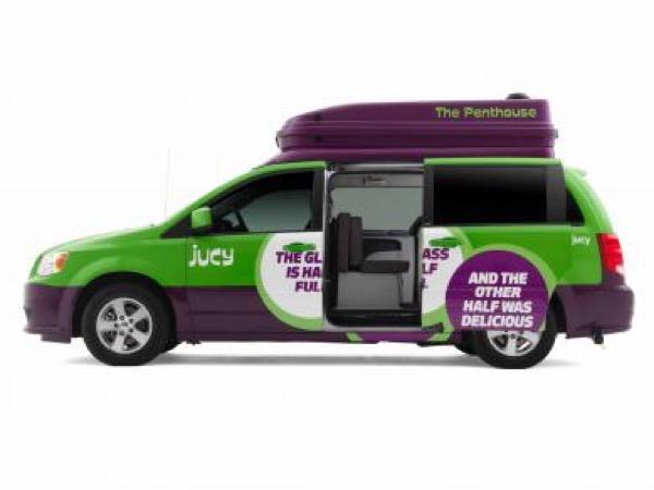 Jucy Dodge Caravan to Motorhome Conversion Camper Mini RV 002