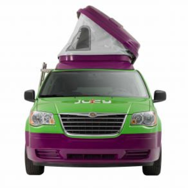 Jucy Dodge Caravan to Motorhome Conversion Camper Mini RV 0020