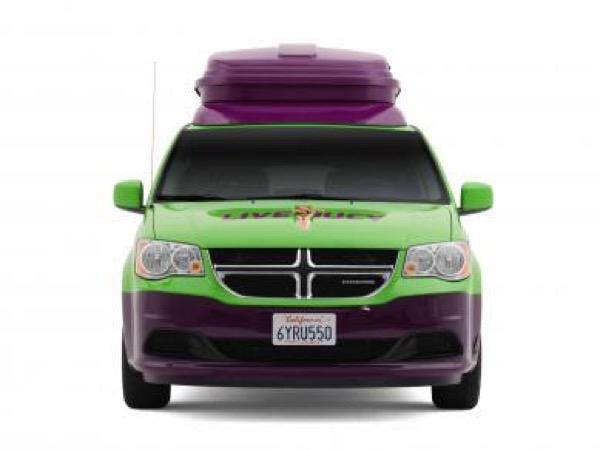 Jucy Dodge Caravan to Motorhome Conversion Camper Mini RV 0026