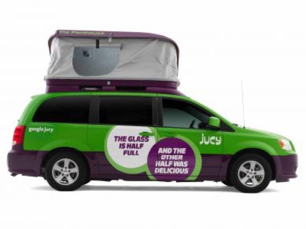 Jucy Dodge Caravan to Motorhome Conversion Camper Mini RV 004