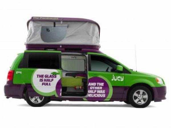 Jucy Dodge Caravan to Motorhome Conversion Camper Mini RV 005