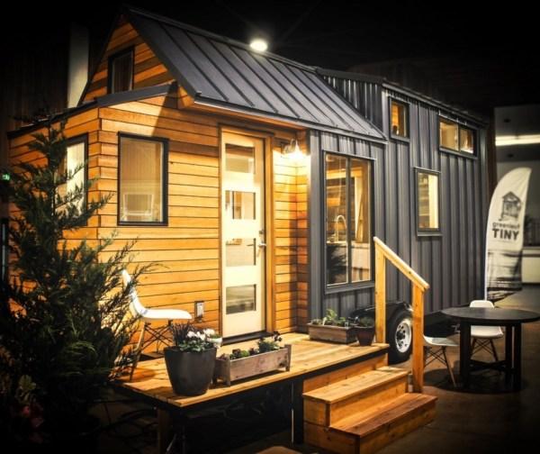 Kootenay Tiny House on Wheels by Green Leaf Tiny Homes 001