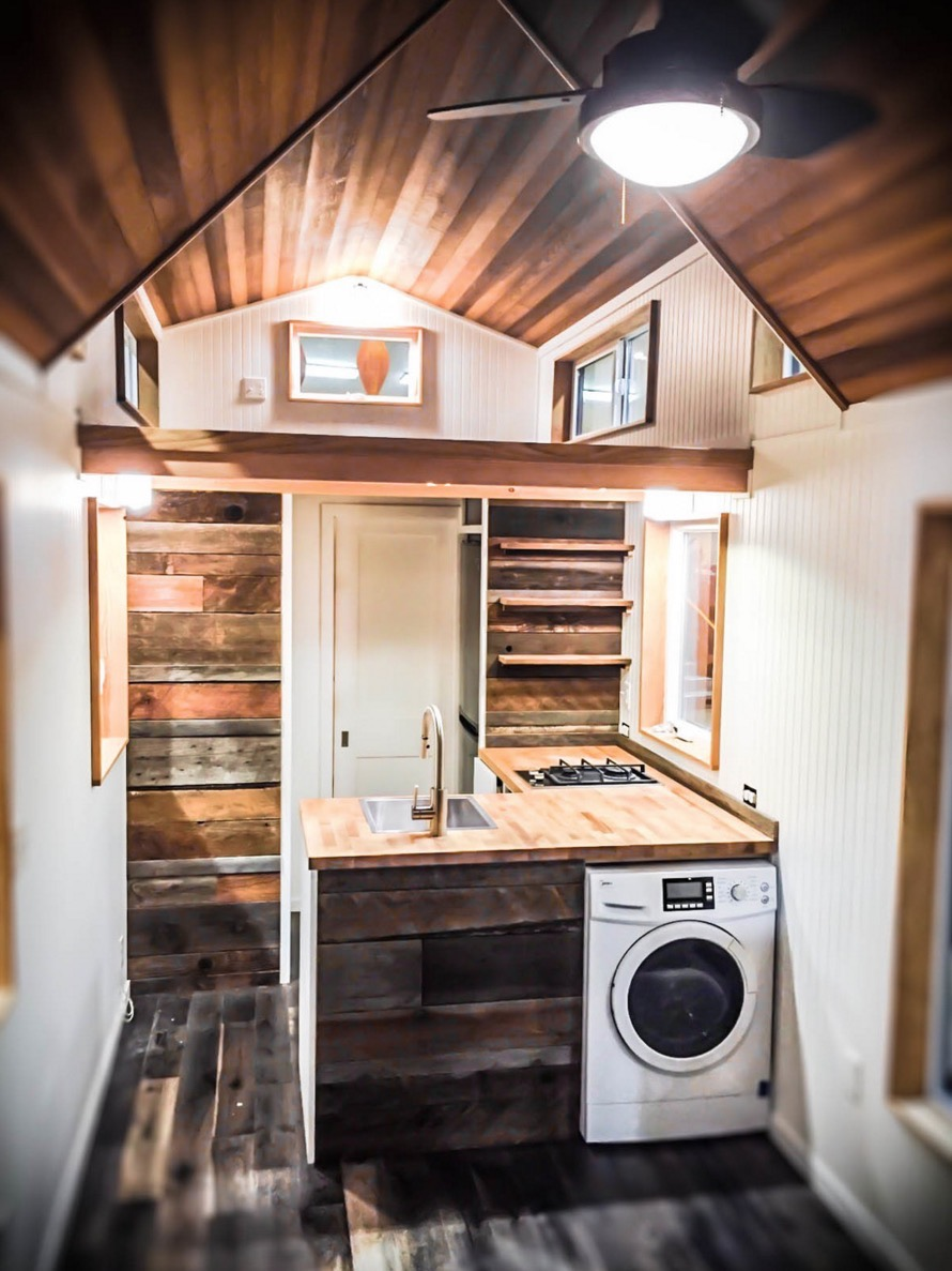 Kootenay Tiny House on Wheels by Green Leaf Tiny Homes