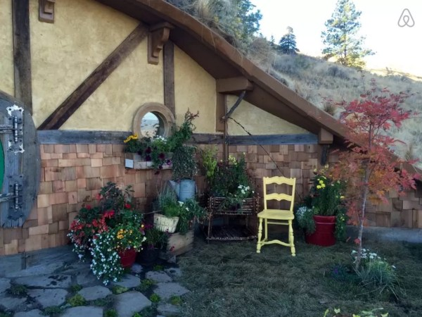 Kristie Wolfe Hobbit Hole Tiny Cabin in the Washington Mountains 0010