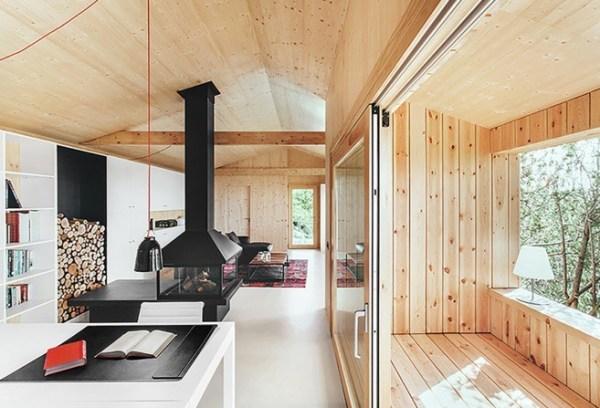 La Casa De Madera by Dom Arquitectura 002
