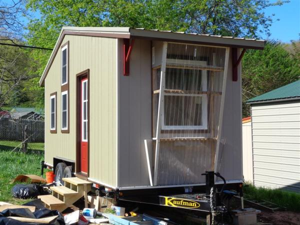 Larry Vickers SIP Tiny House For Sale in Asheville NC 0017