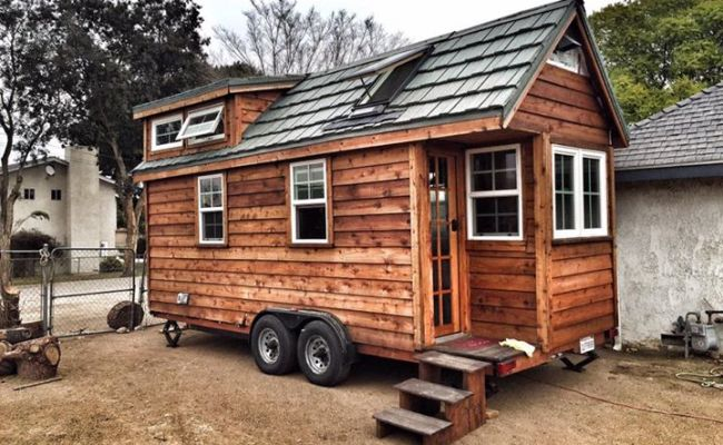 20 Ft Las Vegas Cedar Tiny House For Sale