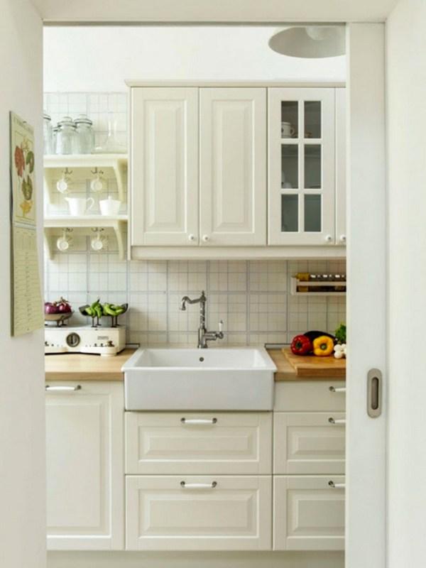 Kitchen in Tiny Italian Cottage
