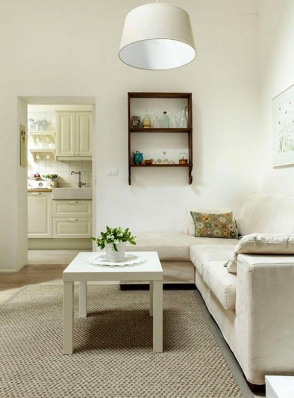 Living Area inside Cottage