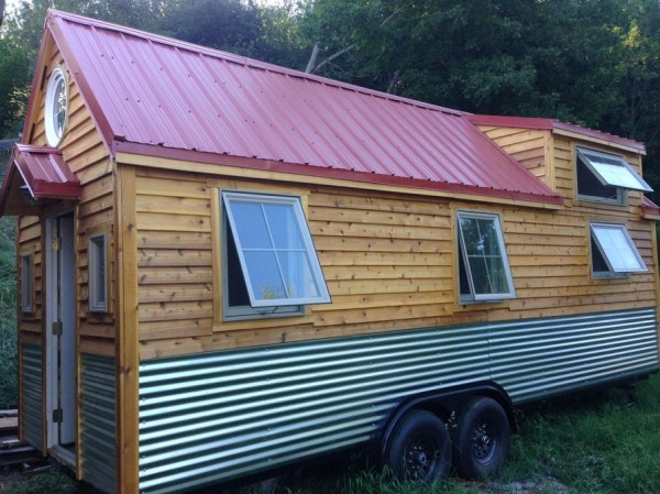 210 Sq. Ft. Little Foot Tiny House on Wheels