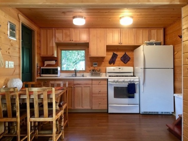 Little Red Cabin with a Metal Roof in Julian CA For Sale 003