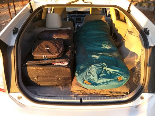 Living in a Toyota Prius 002