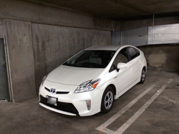 Living in a Toyota Prius 006