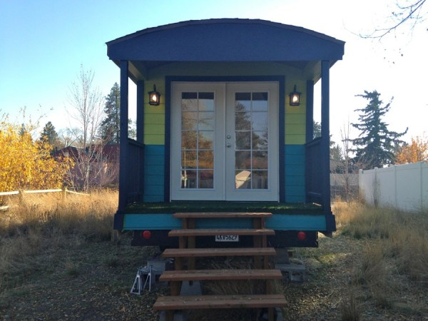 Mallorys 180 Sq Ft Gypsy Tiny House on Wheels 001