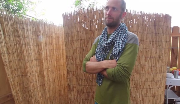 Man Simplifies into Off-Grid Micro Cabin Life in California 0013