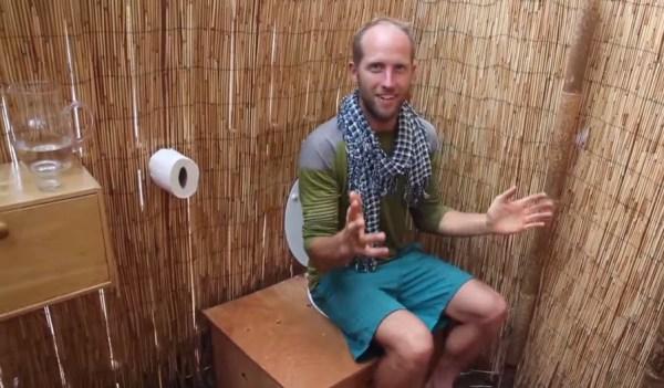 Man Simplifies into Off-Grid Micro Cabin Life in California 0015