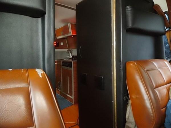 Mans DIY Micro Office and Camper Van 0015
