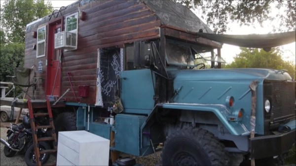 Military Cargo Truck Conversion to DIY Tiny Home 002