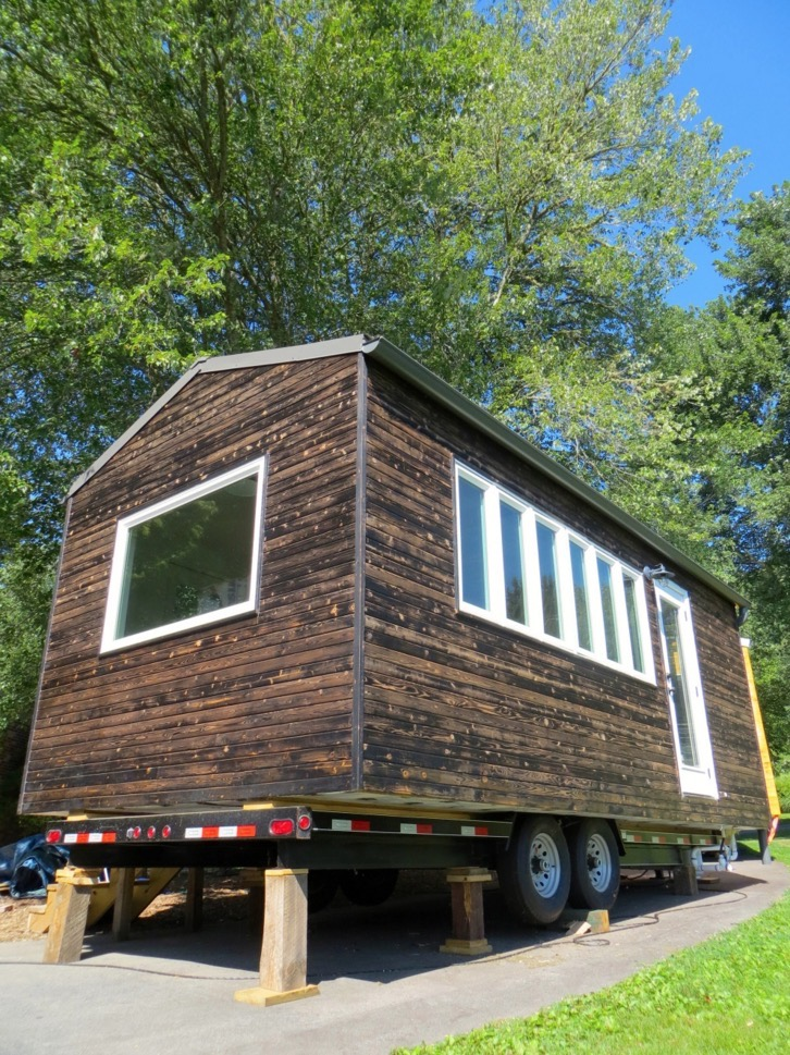 Minim Tiny House On Wheels Built By Brevard Tiny House