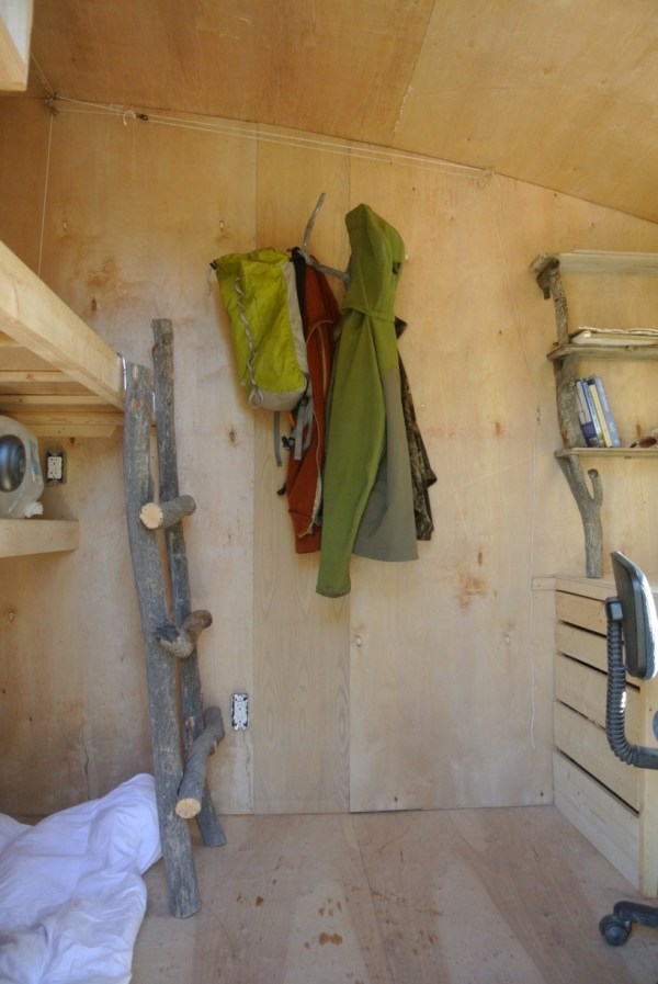 Mobile Micro Cabin and Office by Rocky Mountain Tiny Houses 002