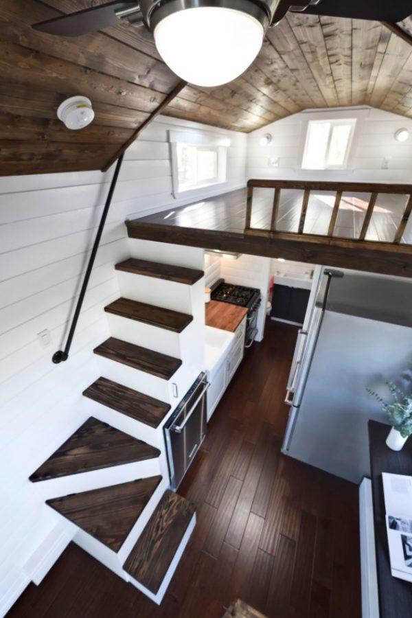 Modern 20 Ft Napa Edition Tiny House On Wheels