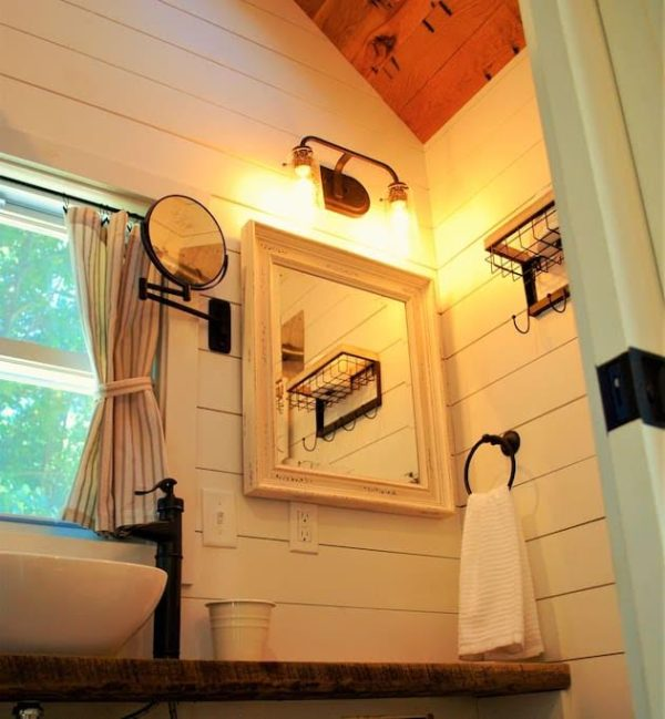 Modern Farmhouse Tiny Home On Wheels