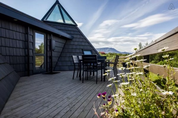 Modern Pyramid Cottage in Iceland 0022