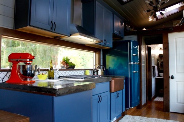 Modern Tiny Cabin on Wheels by Tiny Heirloom 003