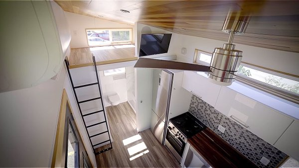 Modern Tiny House by Innovate Tiny – 28ft Catalina 0012