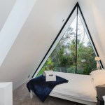 Modern and Luxurious Tiny A-frame Cabin 008