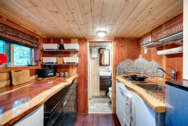 Mountaineer Tiny Home with Rooftop Deck 0011