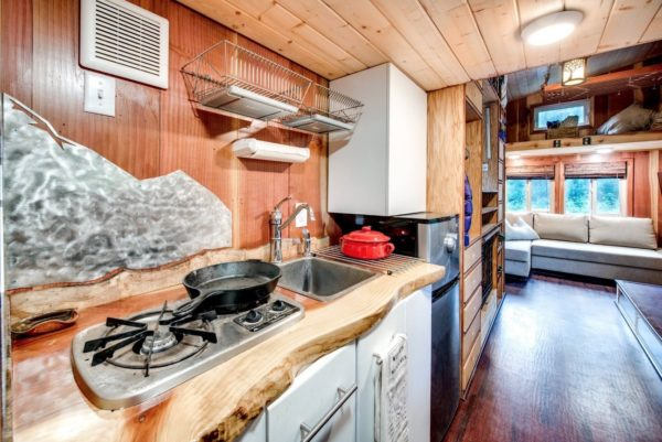 Mountaineer Tiny Home with Rooftop Deck 0012