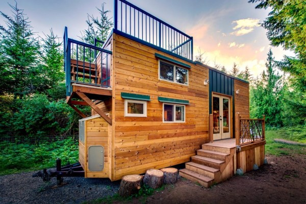 Mountaineer Tiny Home with Rooftop Deck 0027