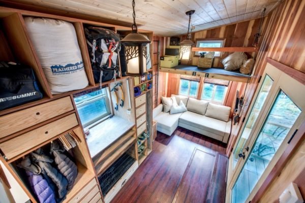 Mountaineer Tiny Home with Rooftop Deck 008