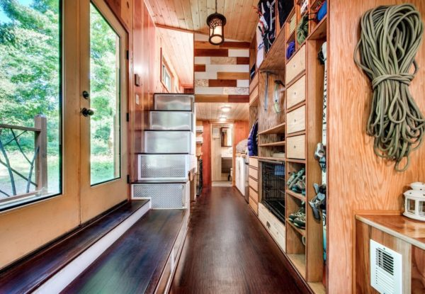 Mountaineer Tiny Home with Rooftop Deck 009