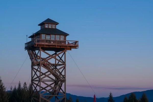 Off-Grid Lookout Tower Cabin in Tiller 0020