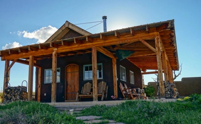 468 Sq Ft Off Grid Tiny Cabin In Colorado