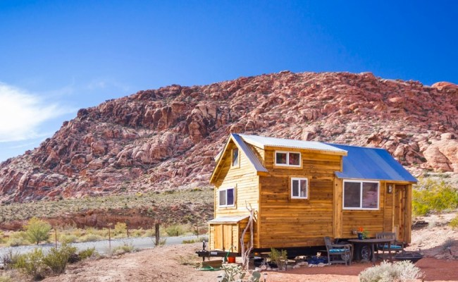 Custom Tiny House On Wheels By Old Hippie Woodworking