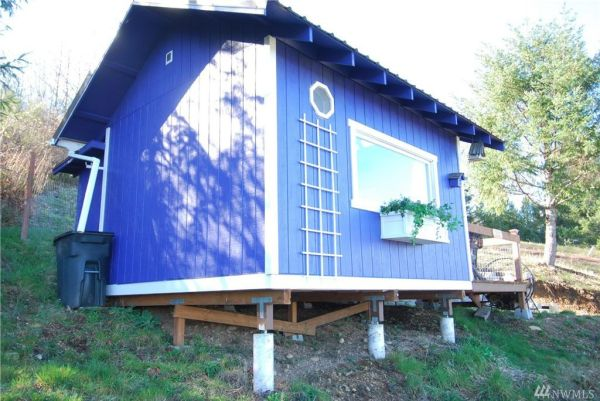 One Room Tiny Cabin for sale in Union WA 005
