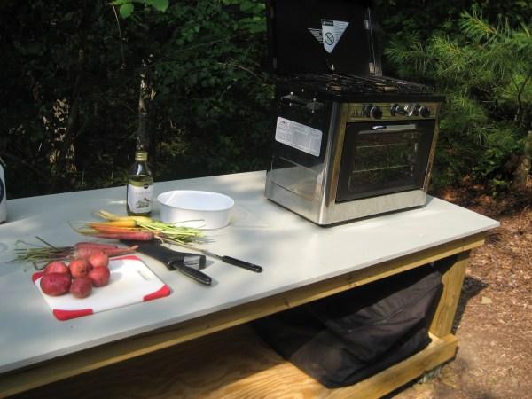 Outdoor kitchen by Laura M. LaVoie
